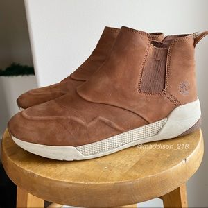 TIMBERLAND Kiri Up Chelsea Leather Ankle Bootie